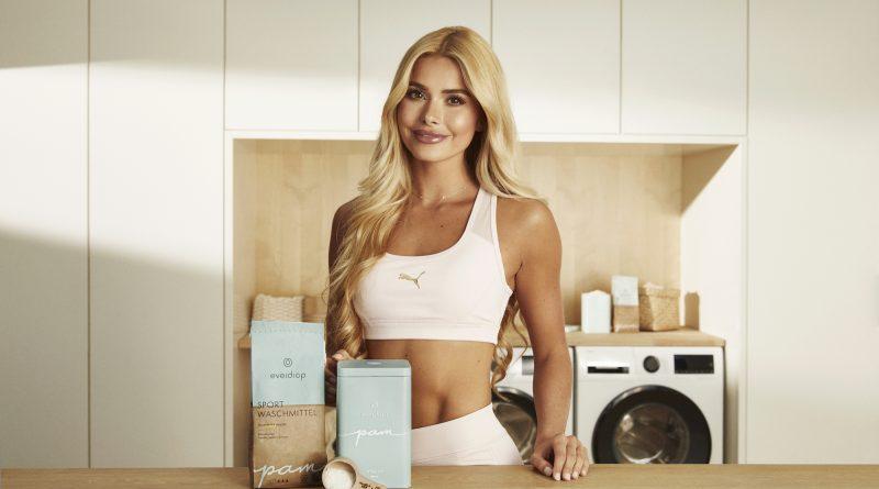 Starkes Duo: Fitness-Influencerin Pamela Reif entwickelt mit everdrop ein Öko-Sportwaschmittel