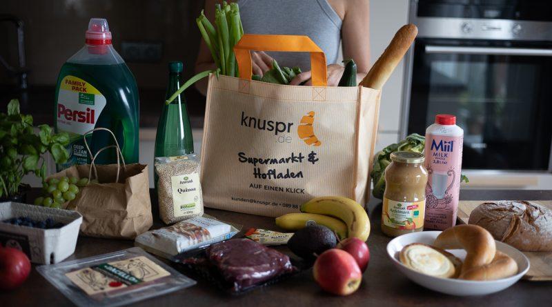 Für noch mehr Umweltschutz: Knuspr bietet 100% recycelte Taschen für Zustellung an