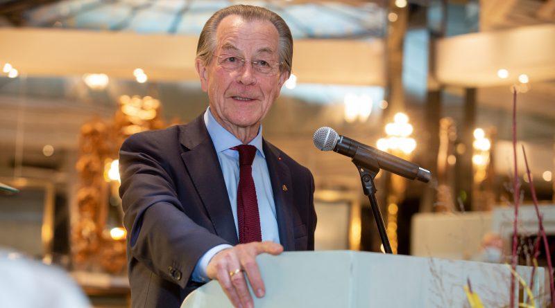 Verabschiedung von Franz Müntefering als ASB-Präsident