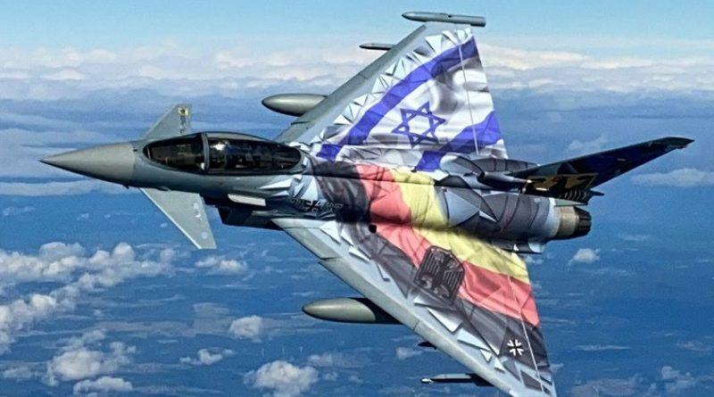 Luftwaffe trainiert mit Eurofghter in Israel