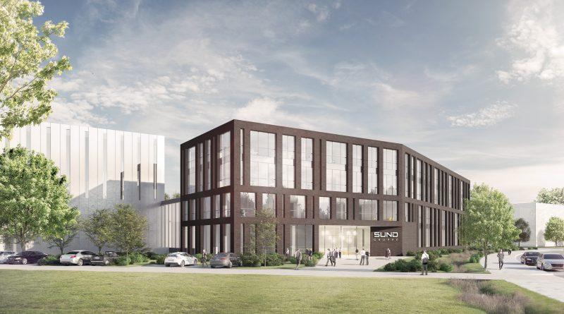 Hamburg-Rahlstedt: Erstes Richtfest für neuen Gewerbepark